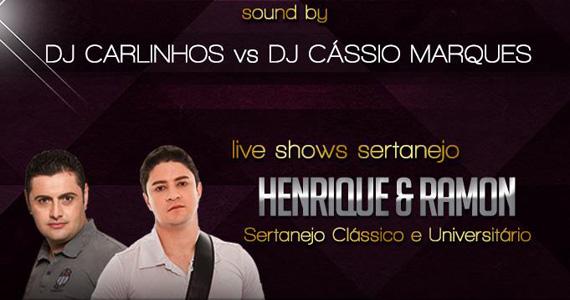 L absolu recebe dupla Henrique & Ramon para agitar a noite desta sexta-feira Eventos BaresSP 570x300 imagem